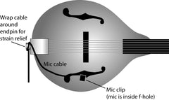 Mandolin Mic-LB (for loud bands)