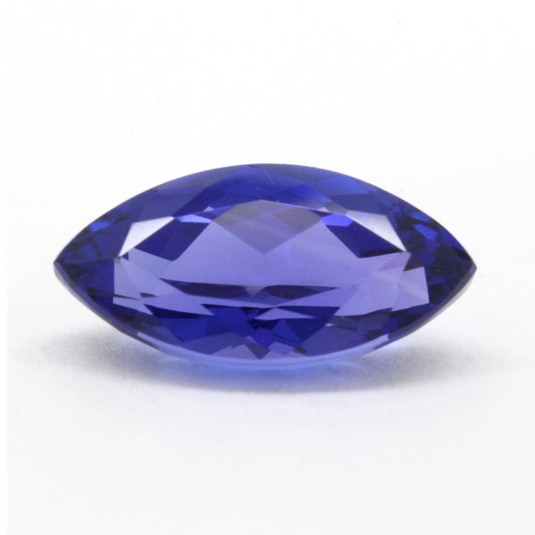 2.55ct Marquise Violet Blue Tanzanite 6.1x12.0mm VS Natural, Tanzania Africa