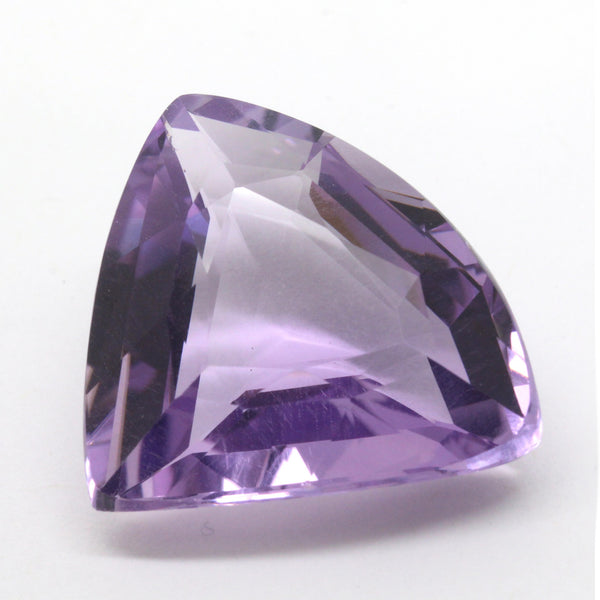 28.66ct Trillion Cut Amethyst VS1 Natural Uruguay 22x22.3mm