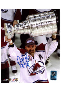 Colorado Avalanche Ray Bourque 8x10 Autograph Photo