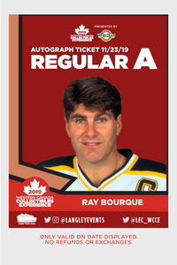 Ray Bourque Autographed 8x10 - Mail Order
