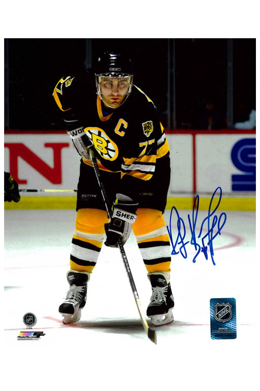 Boston Bruins Ray Bourque 8x10 Autograph Photo