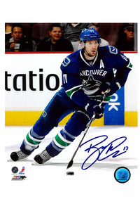 Vancouver Canucks Ryan Kesler Autograph 8x10 Photo
