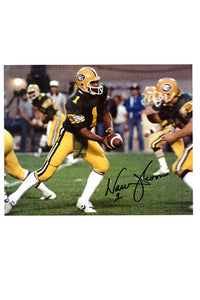 Edmonton Eskimos Warren Moon 8x10 Autograph Photo