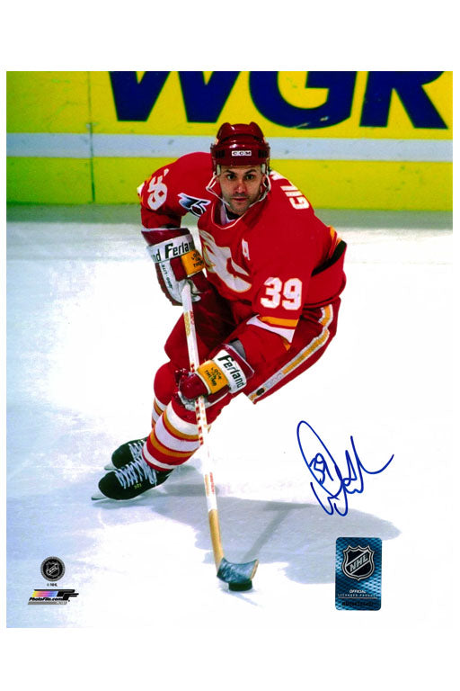 Calgary Flames Doug Gilmour 11x14 Autograph Photo