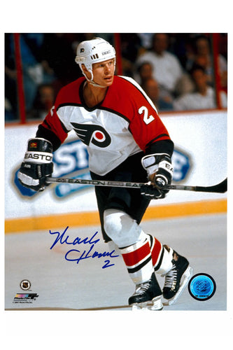 Philadelphia Flyers Mark Howe 8x10 Autograph Photo