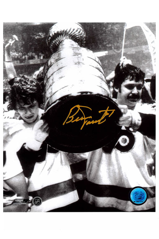 Philadelphia Flyers Bernie Parent 8x10 Autograph Photo