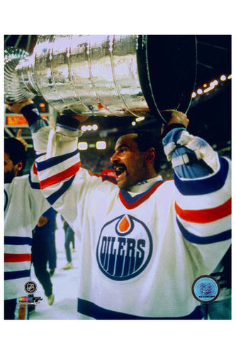 Grant Fuhr Autographed 8x10 - Mail Order