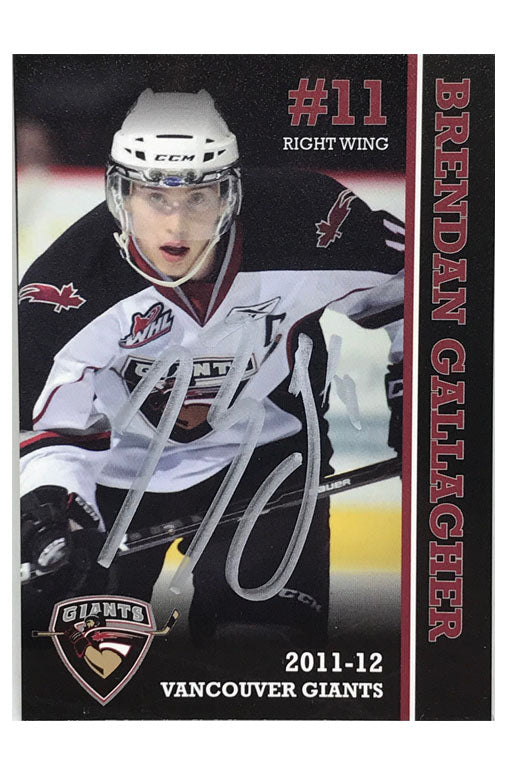 Vancouver Giants WHL 11/12 Team Card Set