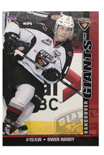 Load image into Gallery viewer, Vancouver Giants WHL 15/16 Team Card Set