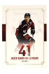 Vancouver Giants WHL 19/20 Team Card Set