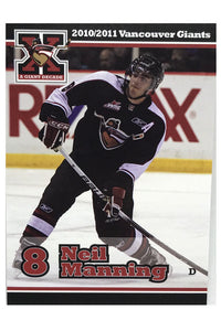 Vancouver Giants WHL 10/11 Team Card Set