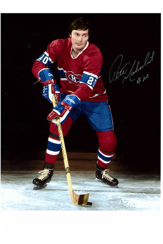 Montreal Canadiens Pete Mahovlich 8x10 Autograph Photo