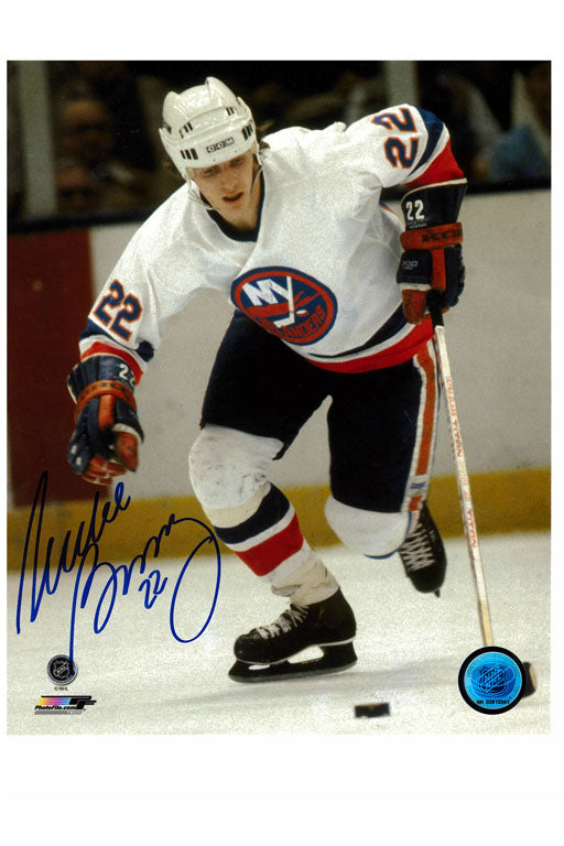 New York Islanders Mike Bossy 8x10 Autograph Photo