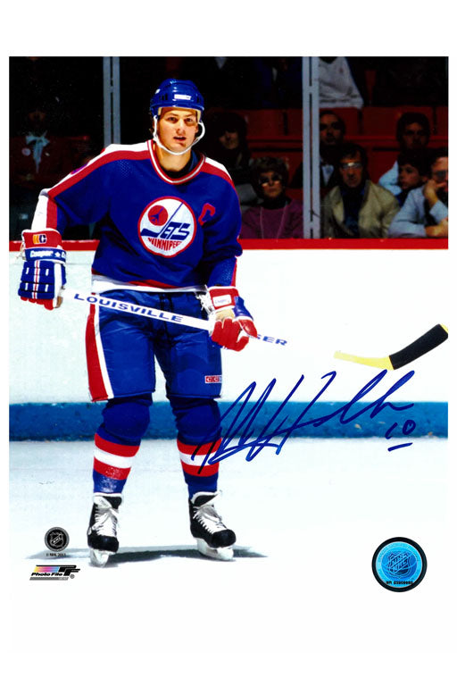 Winnipeg Jets Dale Hawerchuk 8x10 Autograph Photo