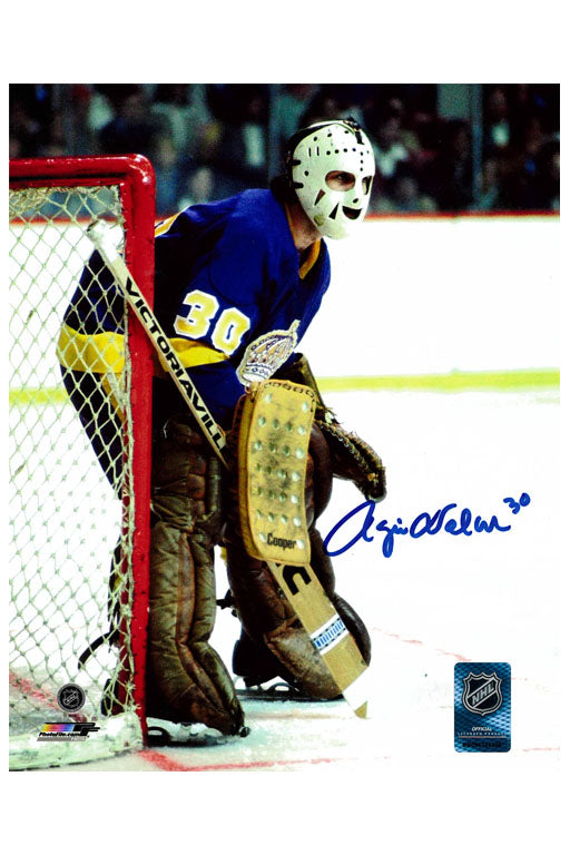 LA Kings Rogie Vachon 8x10 Autograph Photo