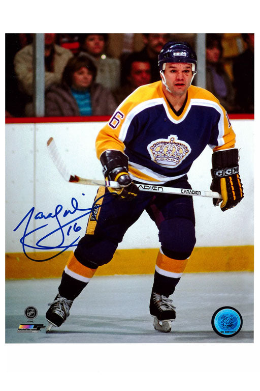 Los Angeles Kings Marcel Dionne 8x10 Autograph Photo
