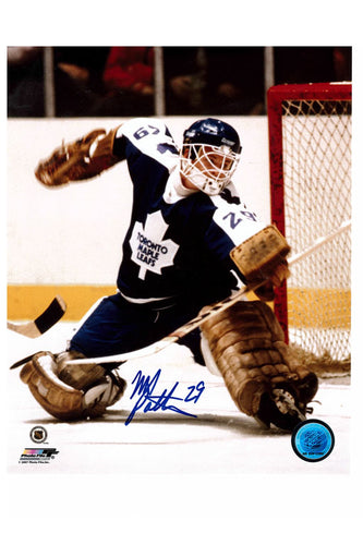 Toronto Maple Leafs Mike Palmateer 8x10 Autograph Photo