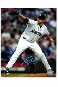 Seattle Mariners James Paxton 8x10 Autograph Photo