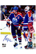 Load image into Gallery viewer, Edmonton Oilers Grant Fuhr 11x14 Autograph Photo