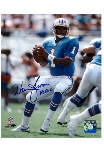 Houston Oilers Warren Moon 8x10 Autograph Photo