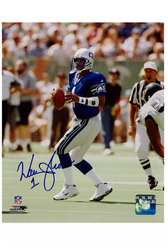 Seattle Seahawks Warren Moon 8x10 Autograph Photo