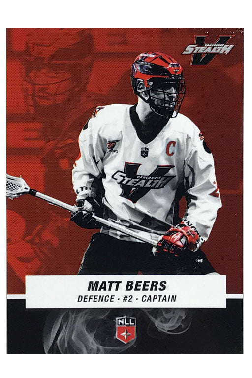 Vancouver Stealth NLL 2017/2018 Team Card Set