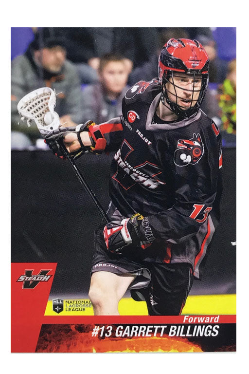 Vancouver Stealth NLL 2017 Team Card Set