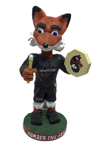 Vancouver Stealth NLL Bomber the Fox Bobblehead