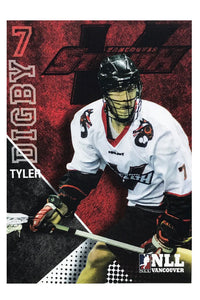 Vancouver Stealth NLL 2014 Team Card Set