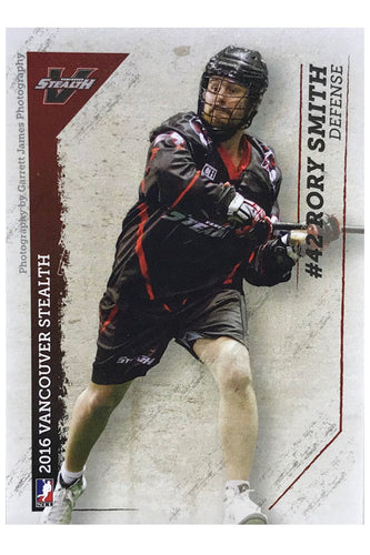 Vancouver Stealth NLL 2016 Team Card Set
