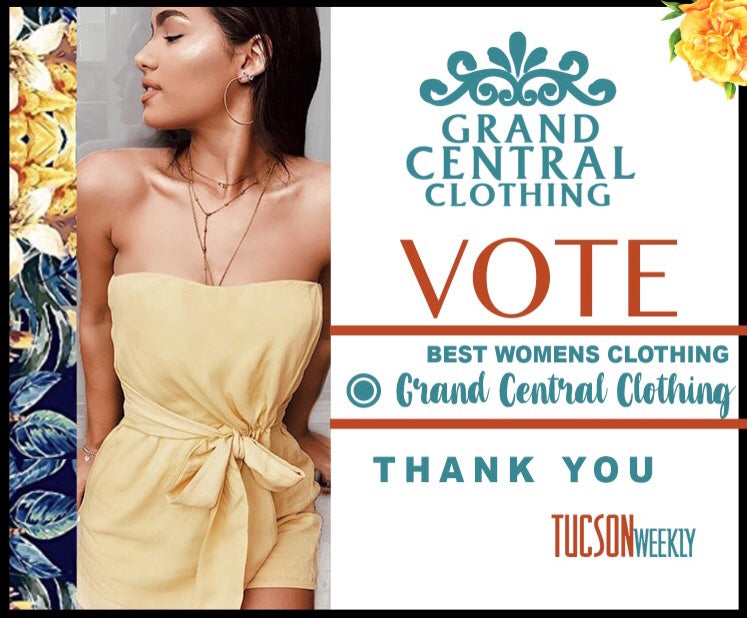 VOTE FOR GRAND CENTRAL CLOTHING!