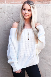 The Show Off Sweater - Ivory