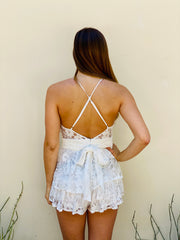 Lillian Lace Romper