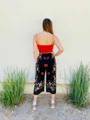 The Collette Crop Pant