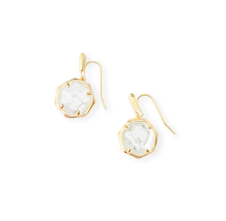 Cynthia Gold Drop Earring