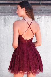 The Monroe Dress - Wine - SOLD OUT