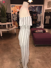 Strutting in Stripes Jumpsuit