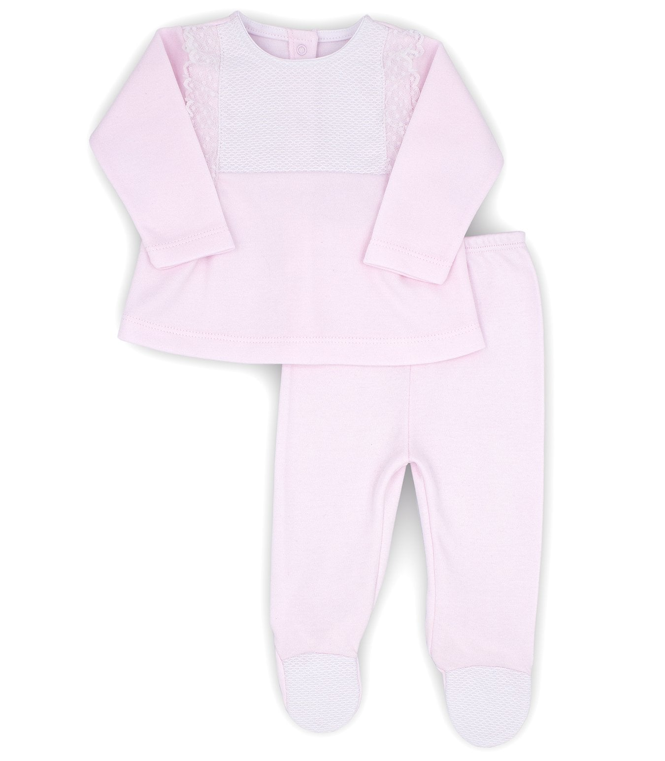 Rapife AW20 Pink Cotton 2 Piece Set
