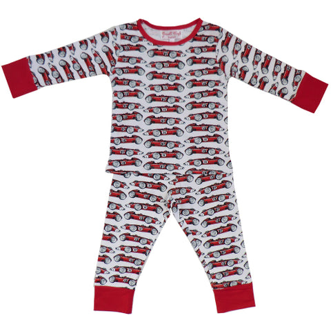 Powell Craft Racing Car Jersey Pjs