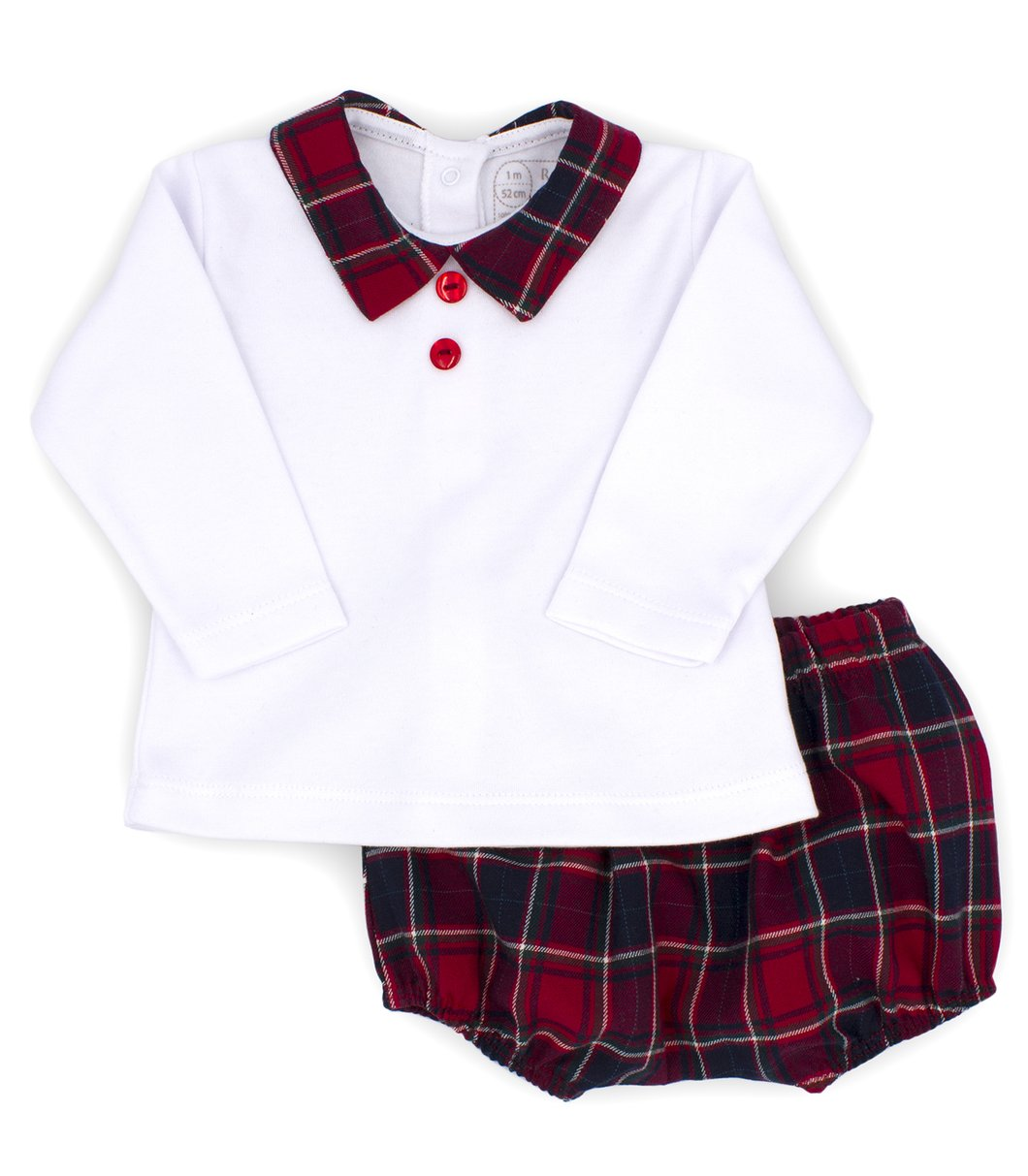 Rapife AW20 Boys Tartan Jam Pants Set