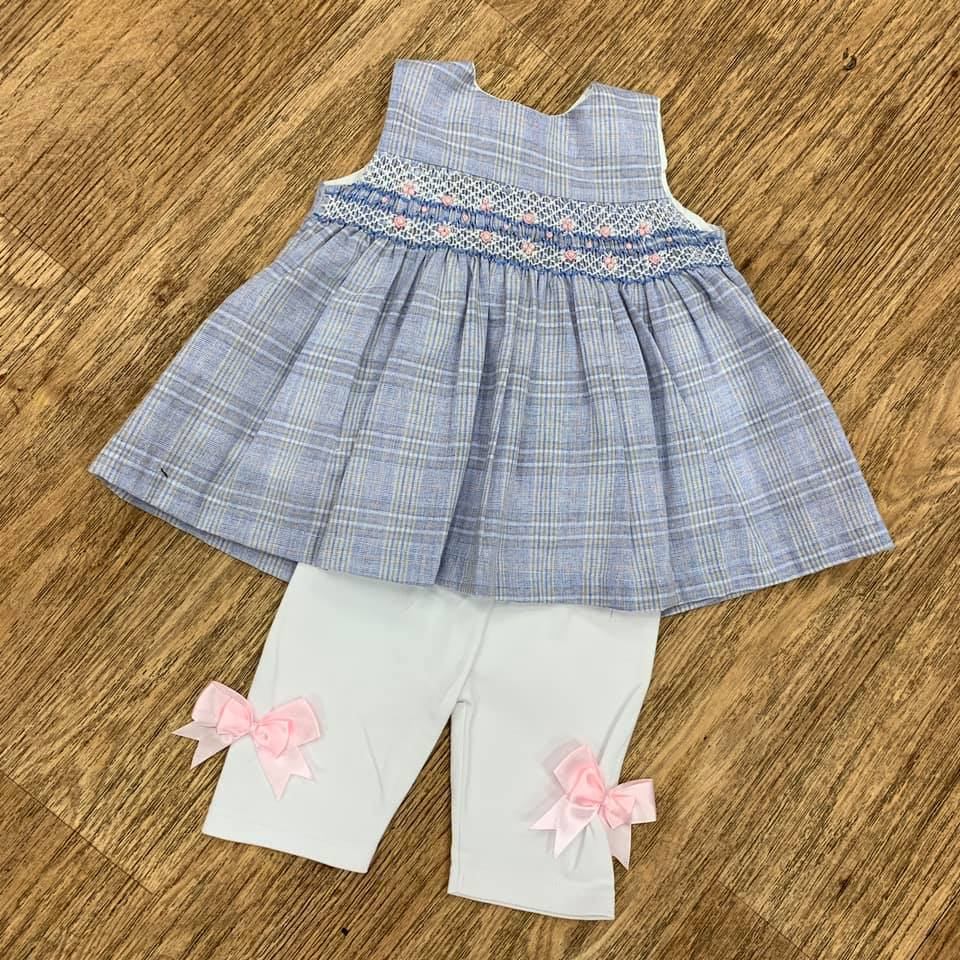 Beau Kid Smocked Legging Set