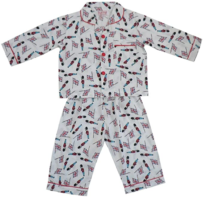 Powell Craft Button-up Soldier PJs