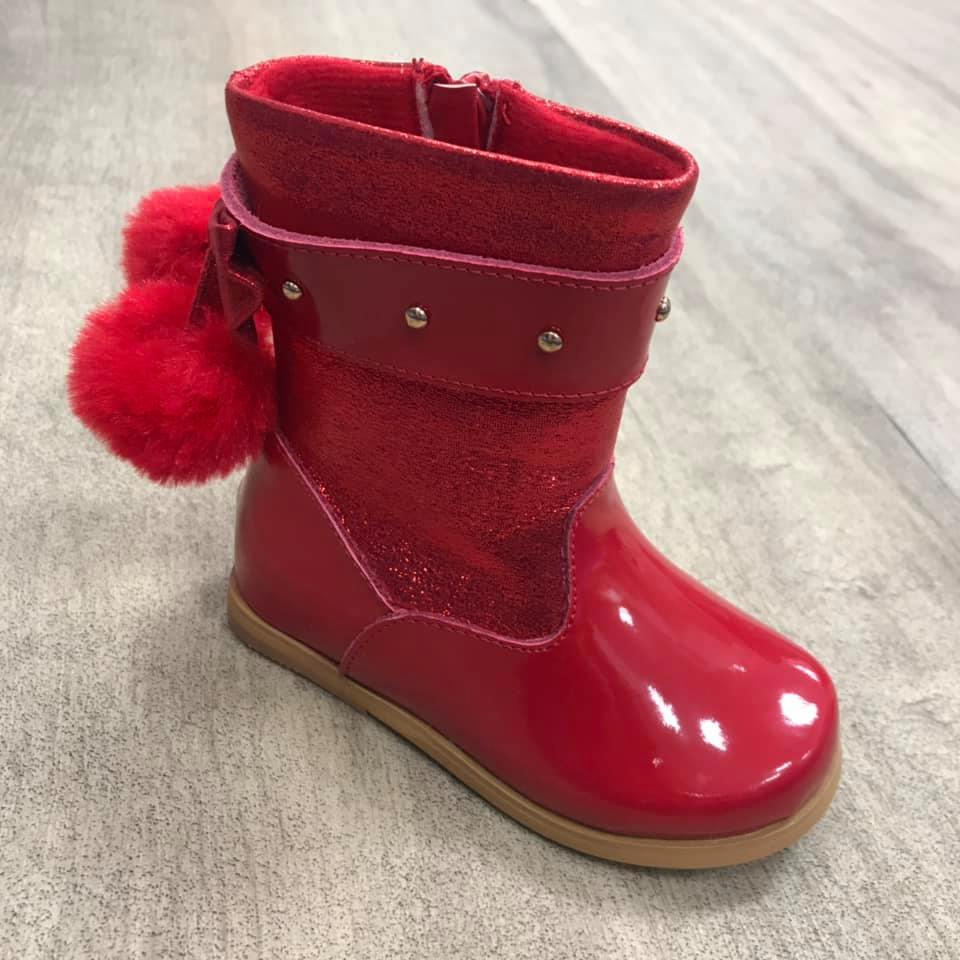 Molly Boot Red