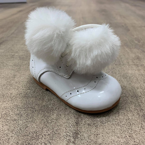 Couche Tot Bailey White Boot