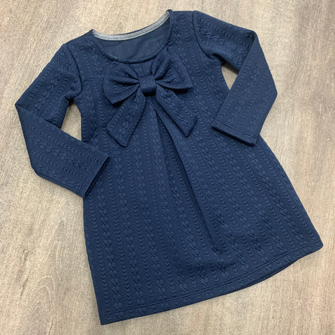 Navy Bow Dress