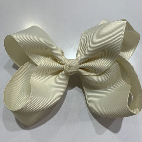 Medium Bow Cream