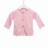 Blues Baby Knitted Cardigan Pink