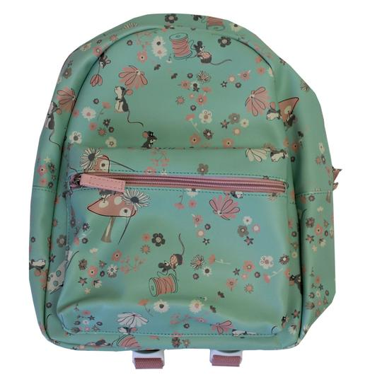 Powell Craft Pink and Blue Mouse Backpack