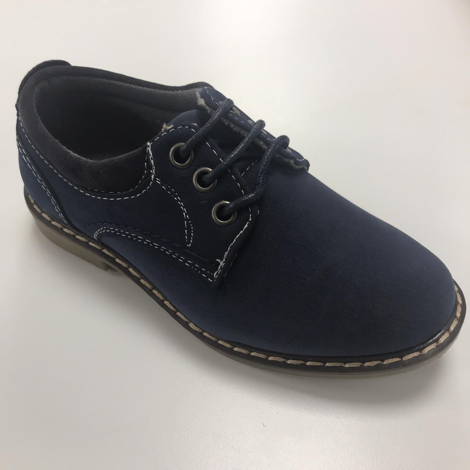 Sevva Navy Oliver Boys Smart Shoe